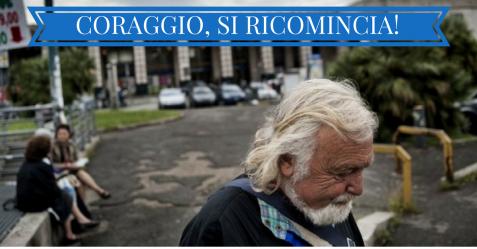 CORAGGIO, SI RICOMINCIA!