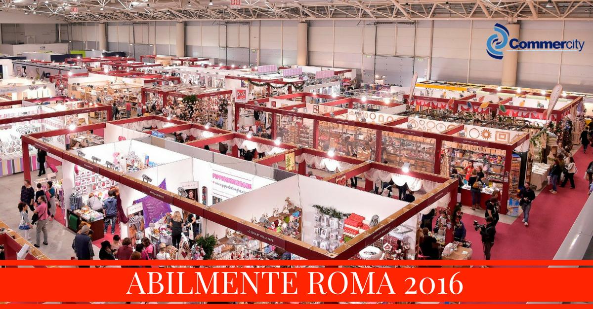Abilmente alla fiera di roma commercity blog for Fiere alimentari 2016
