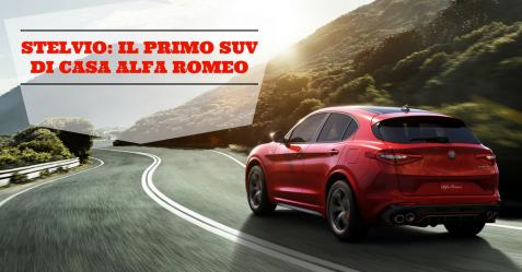 Stelvio, il primo Suv di casa Alfa Romeo