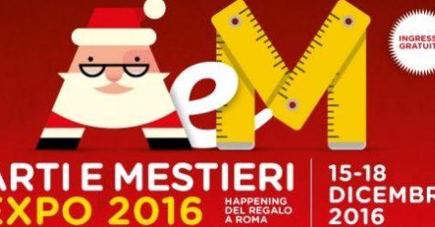 Arti & mestieri Expo 2016 alla Fiera di Roma a due passi da Commercity