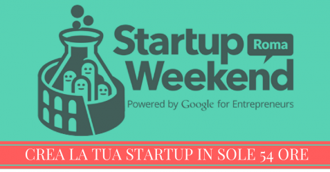 startup weekend roma talent garden cinecittà