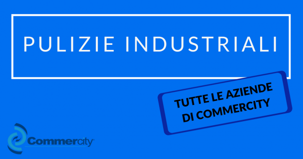 pulizie industriali commercity