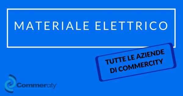 materiale elettrico commercity