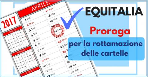 Equitalia Proroga rottamazione cartelle - Commercity Blog