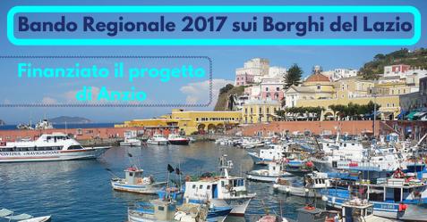 Anzio, Bando Regionale 2017 sui Borghi del Lazio - Commercity