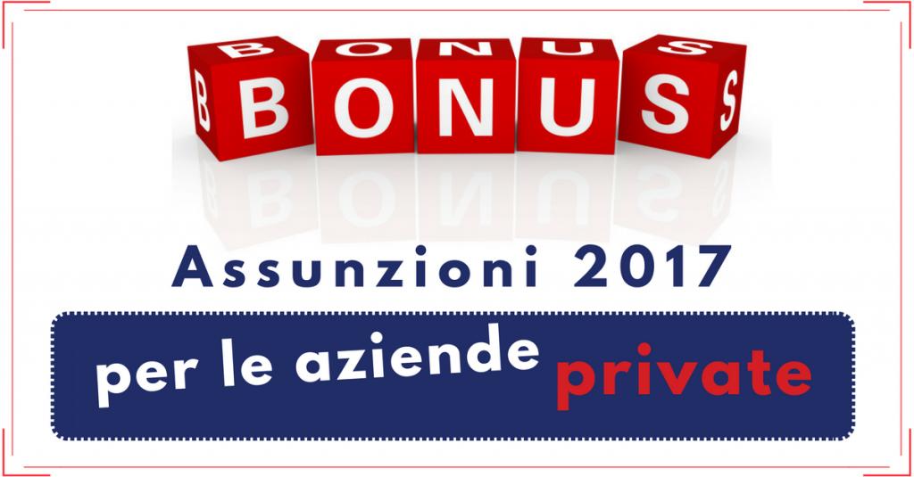 Tutti i bonus assunzioni 2017 commercity commercity blog for Bonus sociale 2017