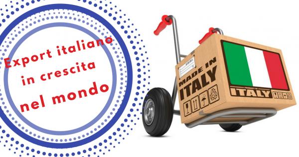 Export italiano in crescita 2 - Commercity Blog