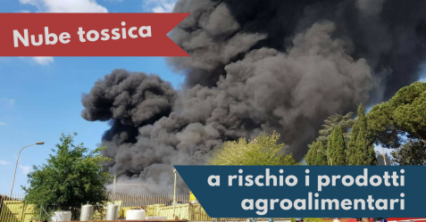 Nube tossica Pomezia - Commercity Blog