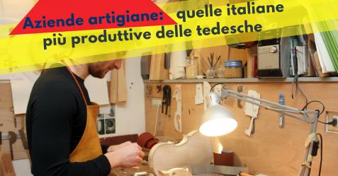 Aziende artigiane, quelle italiane più produttive delle tedesche - Commercity Blog
