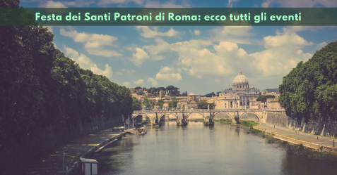 Festa dei Santi Patroni di Roma - Commercity Blog