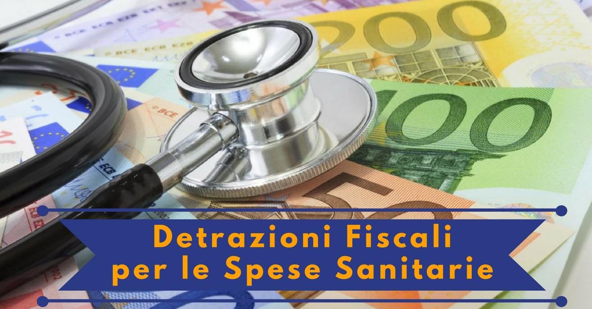 Detrazioni fiscali per le spese sanitarie commercity blog for Detrazioni fiscali ristrutturazione 2017 agenzia delle entrate
