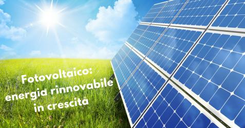 Fotovoltaico, energia rinnovabile in crescita - Commercity Blog