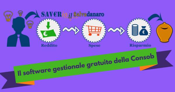 Saverio il Salvadanaro, software Consob - Commercity Blog