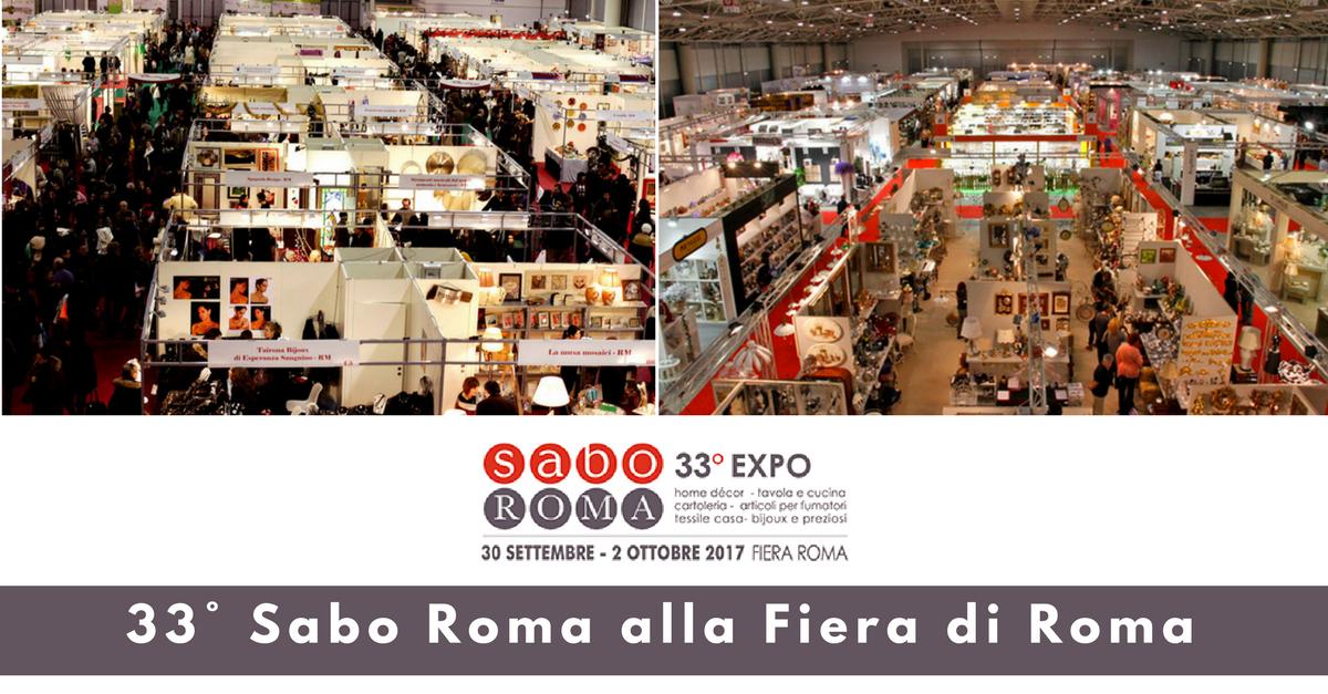 33° Sabo Roma alla Fiera di Roma - Commercity Blog