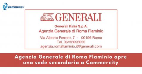 Agenzia Generale di Roma Flaminio apre una nuova sede a Commercity - Commercity Blog