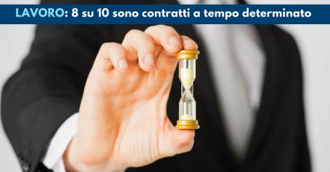 Lavoro, 8 su 10 sono contratti a tempo determinato - Commercity Blog