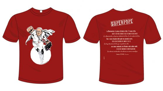 SuperPope t-shirt - Commercity Blog