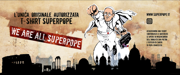 SuperPope t-shirt Poster - Commercity Blog
