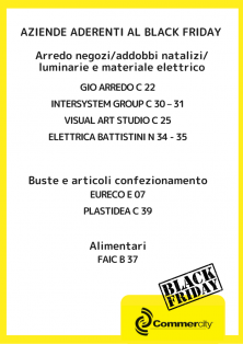 Aziende aderenti al Black Friday di Commercity 3 - Commercity Blog