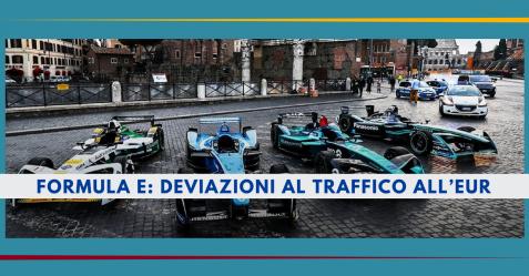 Formula E, deviazioni al traffico all'Eur - Commercity Blog
