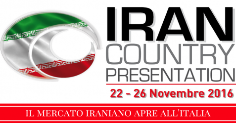 iran country presentation alla fiera di roma