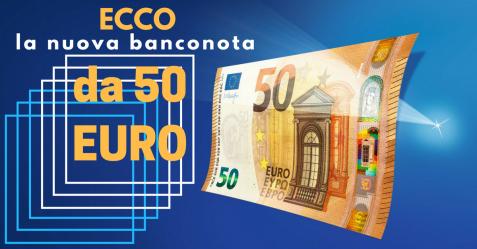 Arriva la nuova banconota da 50 euro - Commercity Blog
