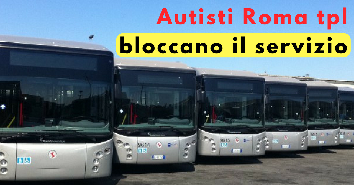 ciopero autisti Roma tpl - Commecity Blog