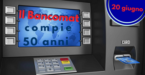 Il Bancomat compie 50 anni - Commercity Blog