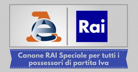 Canone RAI Speciale - Commercity Blog