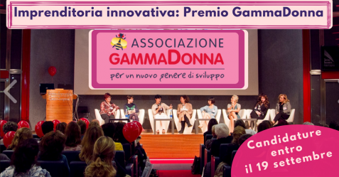 Imprenditoria innovativa - Premio GammaDonna - Commercity Blog
