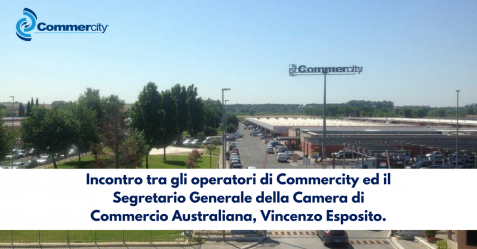 Incontrro Commercity e Camera di Commercio Australiana - Commercity Blog