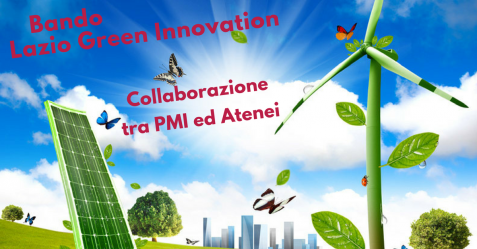 Lazio Green Innovation, collaborazione tra PMI ed Atenei - Commercity Blog