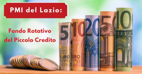 PMI del Lazio, Fondo Rotativo del Piccolo Credito - Commercity Blog
