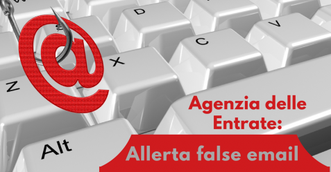 Agenzia delle Entrate, allerta false email - Commercity Blog