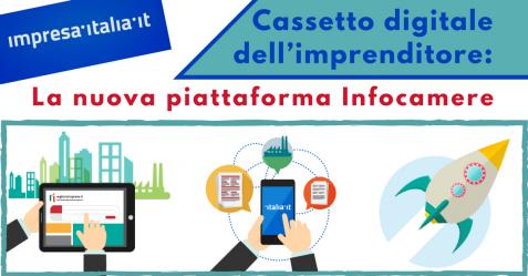 Cassetto digitale dell'imprenditore, la nuova piattaforma Infocamere - Commercity Blog