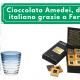 Cioccolato Amedei, di nuovo italiano grazie a Ferrarelle - Commercity Blog