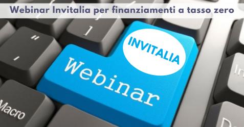 Webinar Invitalia per finanziamenti a tasso zero - Commercity Blog