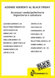Aziende aderenti al Black Friday di Commercity 2 - Commercity Blog