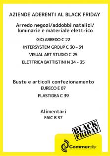 Aziende aderenti al Black Friday di Commercity 3 - Commercity Blog