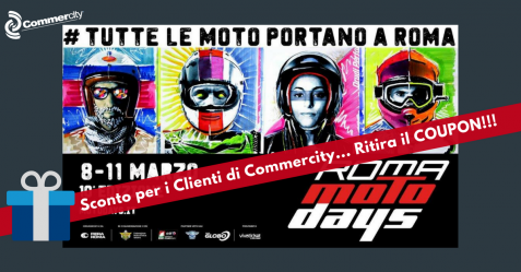 Motodays a Fiera di Roma... coupon 2 - Commercity Blog