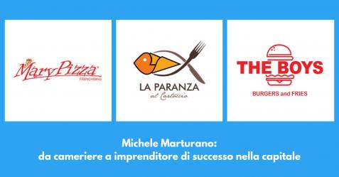 Michele Marturano, da cameriere a imprenditore di successo nella capitale - Commercity Blog