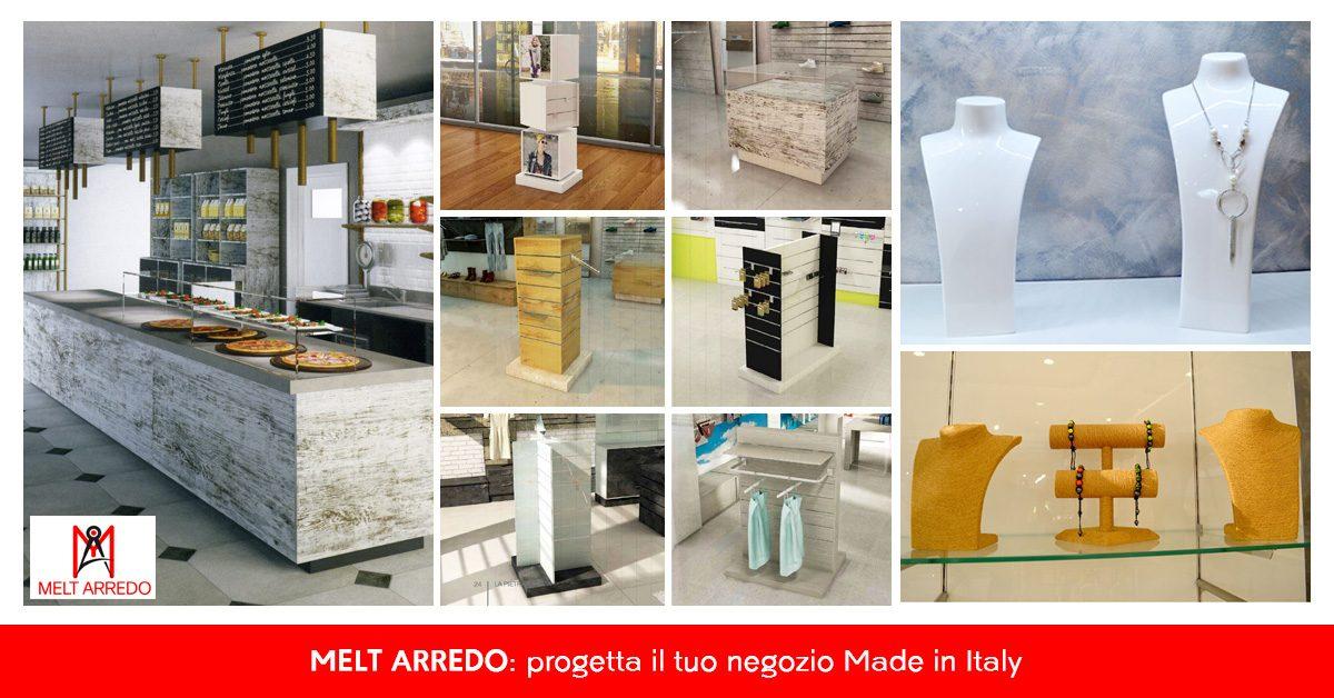 MELT ARREDO, progetta il tuo negozio Made in Italy - Commercity Blog