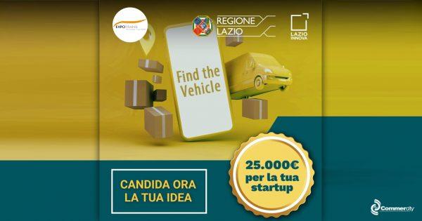 Find the Vehicle, Challenge di Lazio Innova, Regione Lazio e Expotrans - Commercity Blog